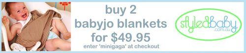 minigaga - styledbaby - babyjo promo