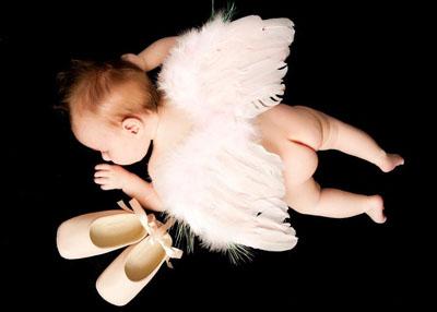 Czarque angel pink ballet